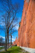 Moscow Kremlin spring - stock photo