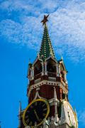 Moscow Kremlin spring Stock Photos