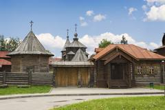 Architecture of the eighteenth century. russia Stock Photos