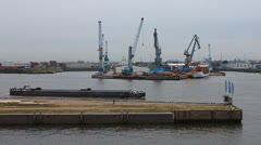 Stock Video Footage of Harbour sounds in Hafen City in Hamburg