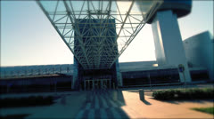 Steven F. Udvar-Hazy Center | Tilt Up Stock Footage