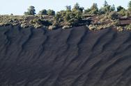 Stock Photo of sunset crater national monument near flagstaff, arizona