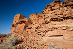 Wupatki  national monument near flagstaff, arizona Stock Photos