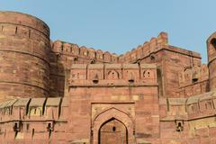 Agra fort in india Stock Photos