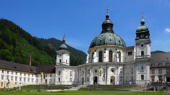 Stock Video Footage of ettal abbey, bavaria germany
