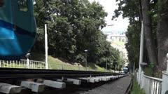 Funicular in Kiev Stock Footage