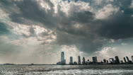 Stock Video Footage of New Jersey Skyline