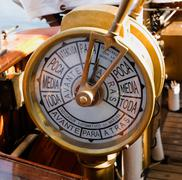 ship telegraph - stock photo