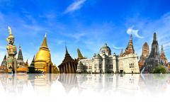 thailand travel background concept - stock photo
