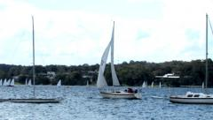 Yachting1 - stock footage