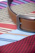 Belt and tie Stock Photos