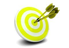 competitive marketing - stock illustration