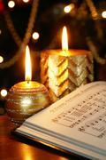 christmas carol - stock photo