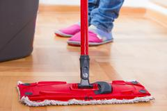 Stock Photo of house cleaning