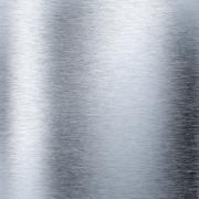 Brushed aluminum metal plate Stock Illustration