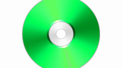 Colorful compact disc, DVD, CD, blu-ray disc, BD Stock Footage