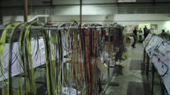 Cable Harnesses Stock Footage