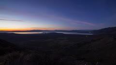 Sunrise over Momo Lake Stock Footage