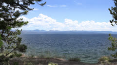 Yellowstone Lake B Stock Footage