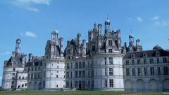 Chateau de Chambord - Chambord France Stock Footage