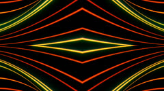 Animated abstract, futuristic lines digital background, HD 1080p, loop. - stock footage