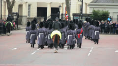 London - Changing of the guard - Buckingham Palace 4 Stock Footage