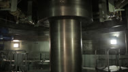 Stock Video Footage of Spinning Turbine Shaft