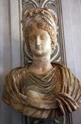 Stock Photo of statue of empress livia, wife of augustus caesar, capitoline museum rome ital