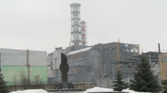 Chernobyl Nuclear Power Plant - stock footage