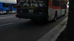 LAX Entrance Camera Tilt Stock Footage
