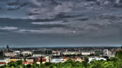 Budapest HDR time lapse HD Stock Footage