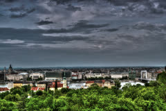 Budapest HDR time lapse 6K Stock Footage