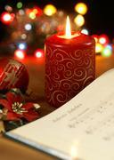 Christmas carol Stock Photos