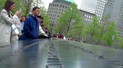 National September 11 Memorial & Museum (NYC) Stock Footage