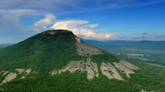 Movement of the clouds on the mountain.  Stock Footage