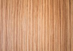 artificial wood lines background with warm light - stock photo