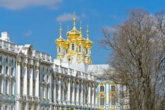 catherine palace - stock photo