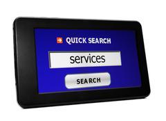 Etsiä palveluita Kuvituskuvat