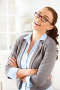 Sassy entrepeneur Stock Photos