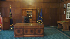 The Governors Chair 1 Stock Footage