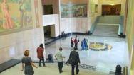 Stock Video Footage of Oregon State Capital Building Lobby