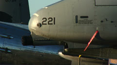 A-10 Thunderbolt 01 Stock Footage