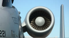 A-10 Thunderbolt 02 detail Stock Footage
