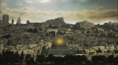 Jerusalem Time Lapse AE Stock Footage