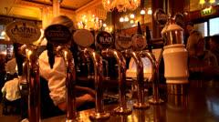 English pub - stock footage