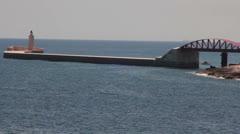 Maltese impressions - lighthouse _1 Stock Footage