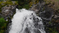 Top of waterfall Stock Footage