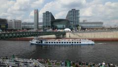 Berlin central station Stock Footage