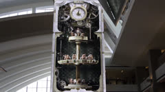 The Clock Tower - LAX Great Hall Stock Footage