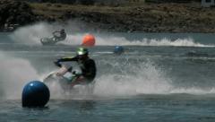 Jet ski racers 1 - stock footage